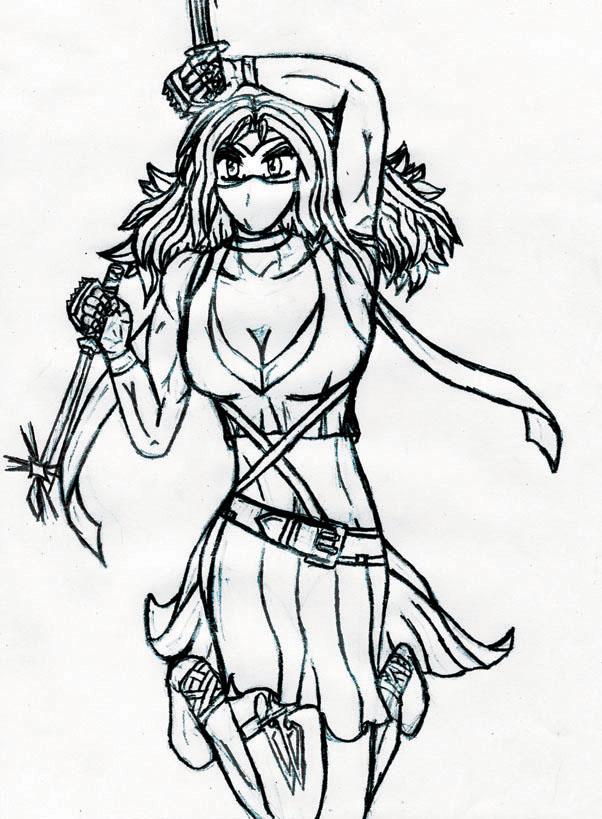 602x819 anime ninja original drawing by craigyp100 on DeviantArt