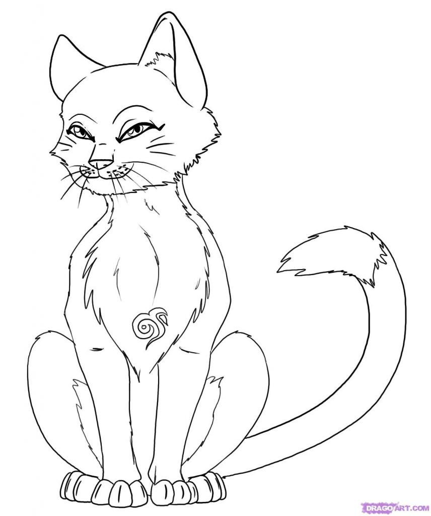 856x1024 How To Draw Manga Animals Manga Animal Coloring, Stepstep Anime