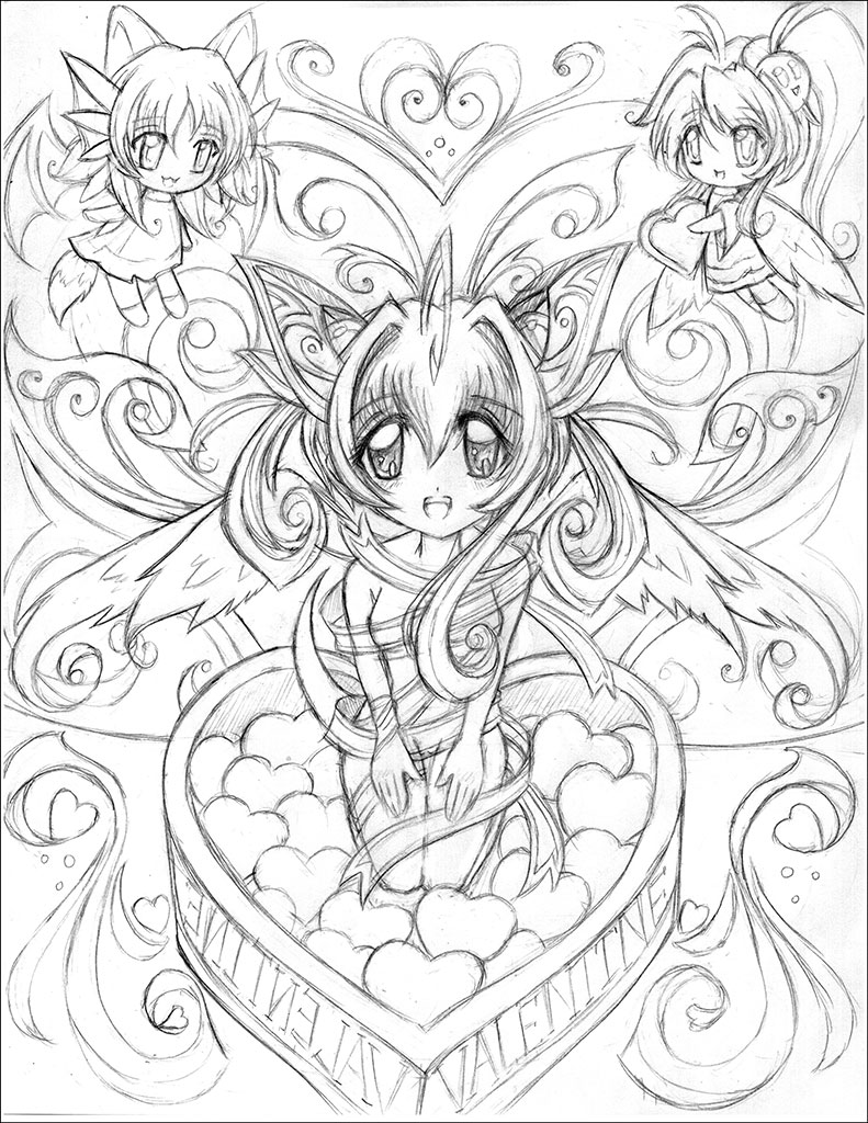 791x1024 Best Anime Coloring Pages Top Books G