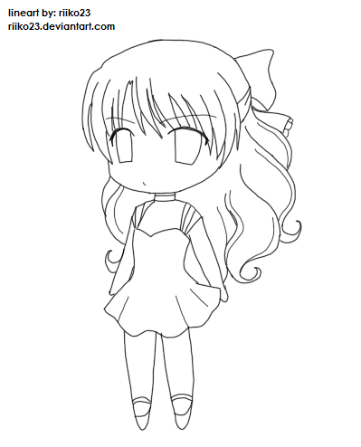 399x494 drawn girl chibi