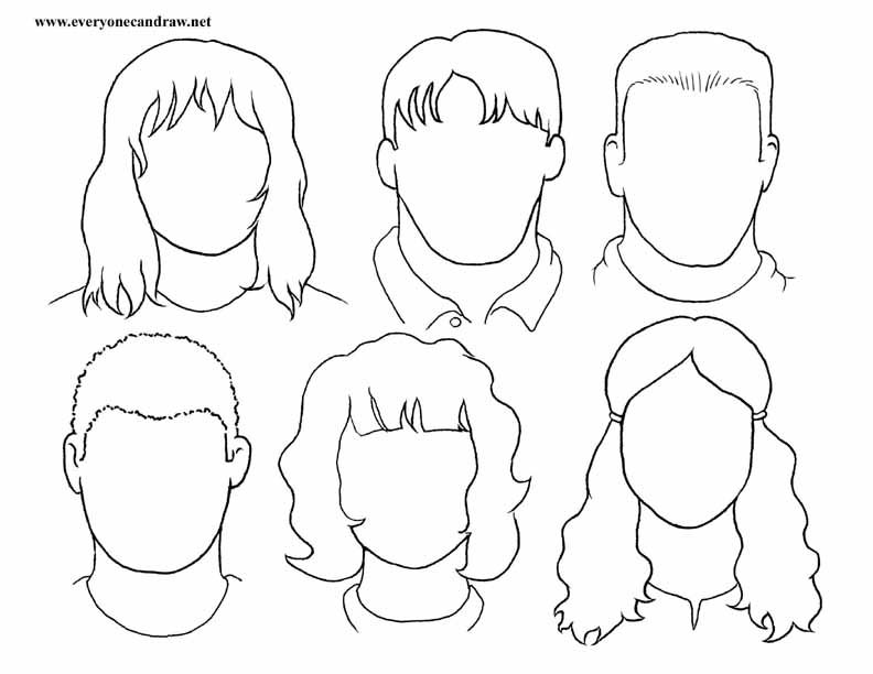 792x612 Drawing Drawing Faces Step By Step Plus How To Draw A Cartoon