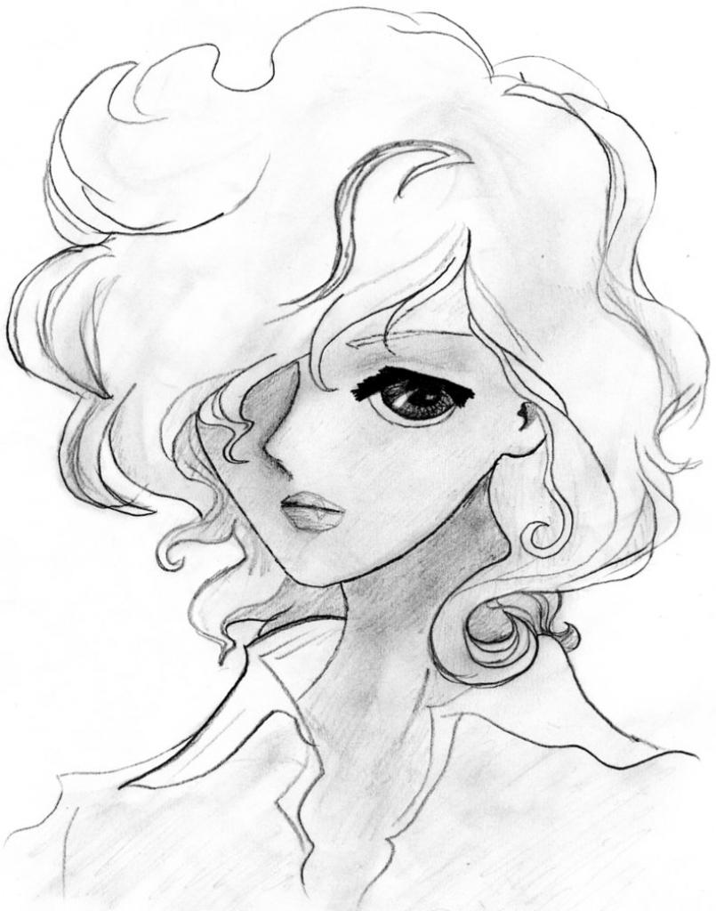 805x1024 Anime Girl Sketch Tumblr Anime Drawing Tumblr Girl