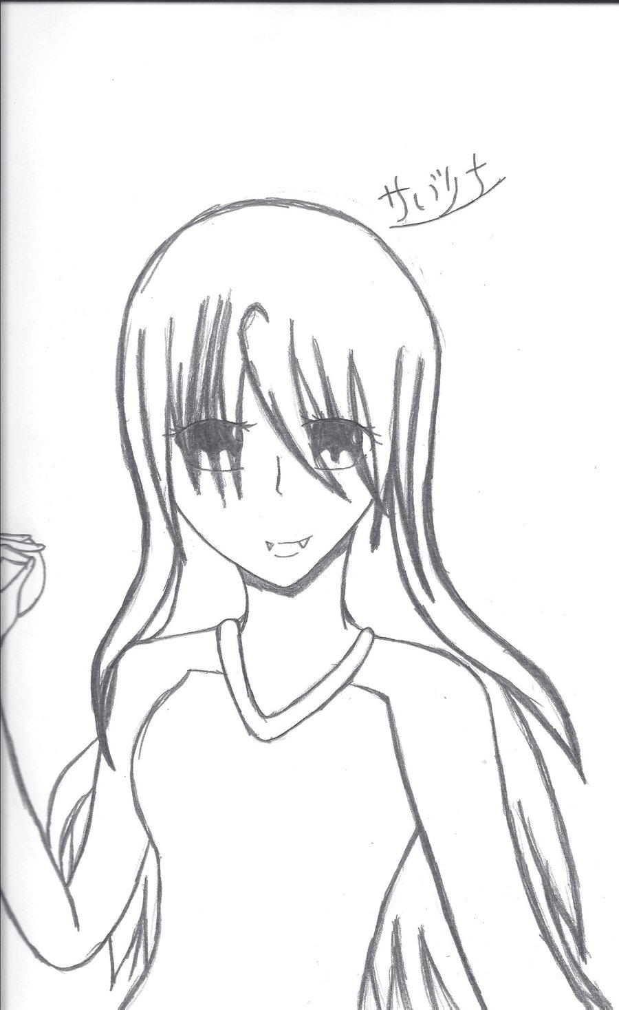 900x1468 Anime Vampire Girl By Shiranuiamatarasu