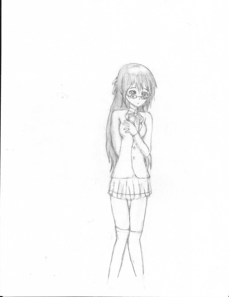 791x1024 Girl Full Body Pencil Drawing Anime Drawing Pencil Full Body Anime
