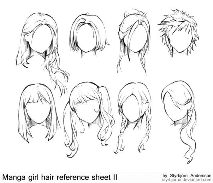 700x602 Anime Girl Drawing Ideas