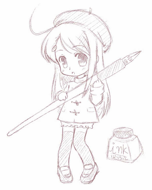 600x749 chibi pencil cleared bycatplus by chindefu on deviantart