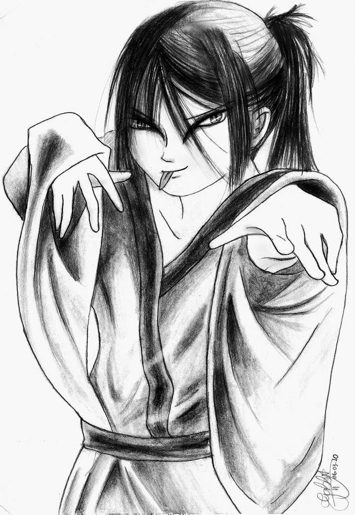 707x1024 The World's Best Photos Of Drawing And Orochimaru