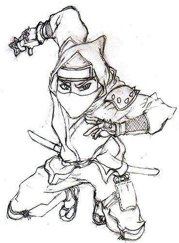 369x500 Ninja Ninja, Naruto, Anime, Drawing ,alvin, Cool, Hot,
