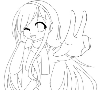 320x294 Finished The Outline To This So Now Coloooor