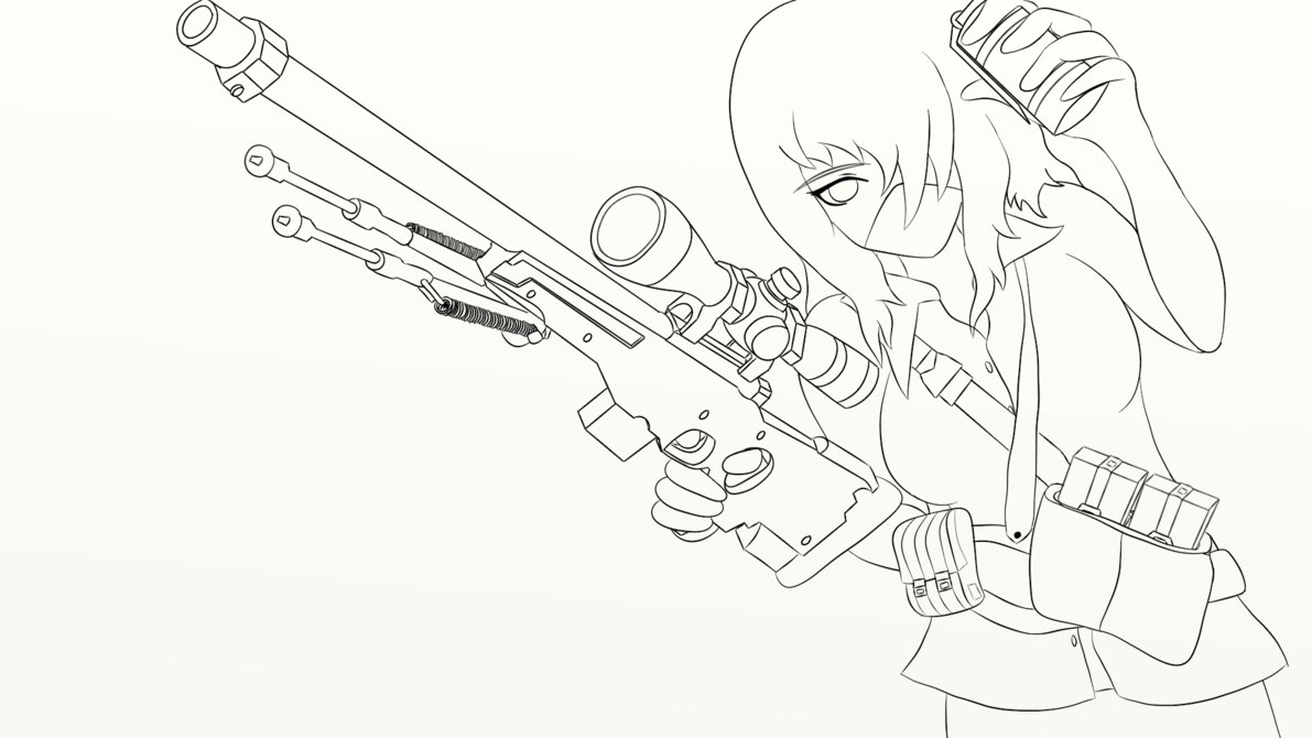 1191x670 Anime Drawing Outline