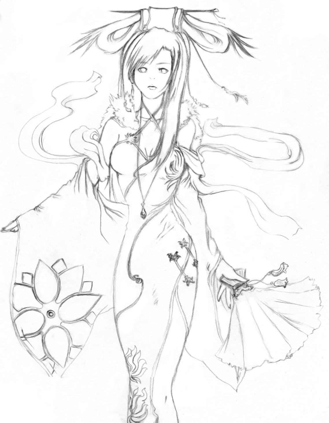 1138x1465 Princess Kim Outline By Crappyartisttumte