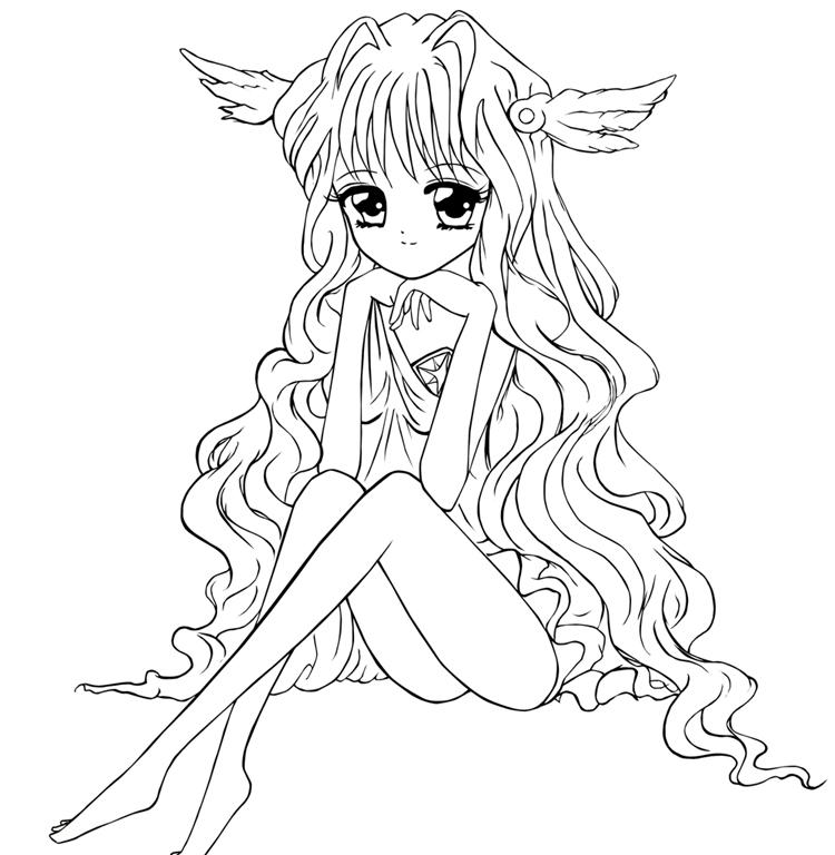 750x768 Fairy.princess Outline By Princesskoko