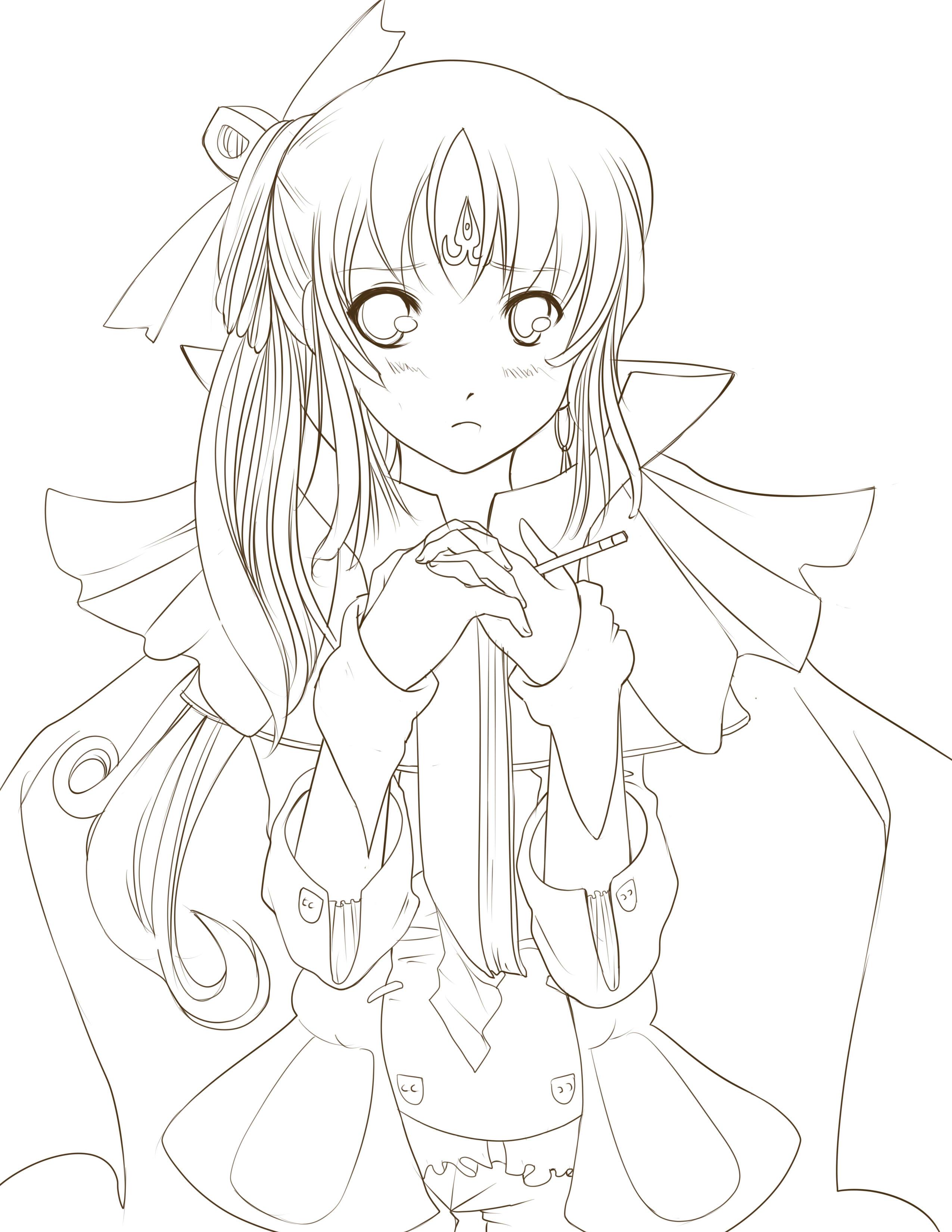 2550x3300 Anime Drawing Outline How To Draw Anime Manga Male Head