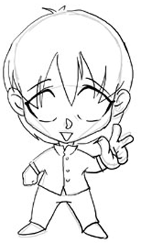 200x344 Step 3 Drawing Chibis Boys Anime Tutorial