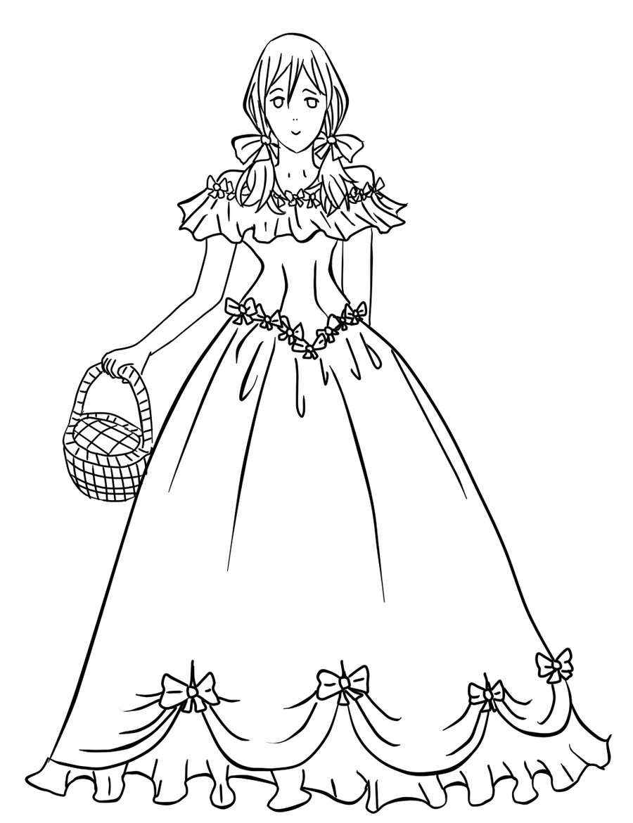 Anime Dresses Drawing at GetDrawings.com | Free for personal use ...