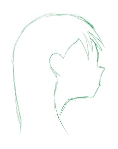 237x300 How To Draw Anime Girl Profile Basic Approach The Mangaka In You
