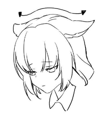 450x480 Animal Ears Anime