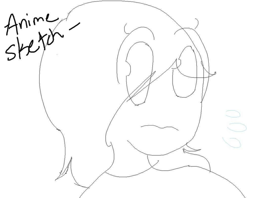 1020x783 Anime Sketch By Varmint002