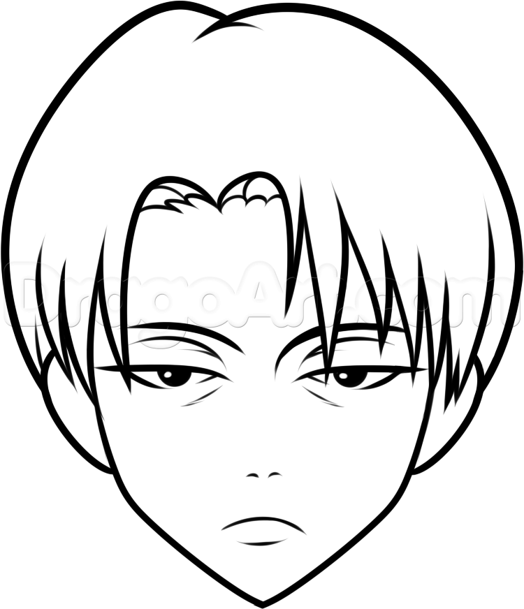 750x872 steps to draw easy people how to draw a simple anime easy