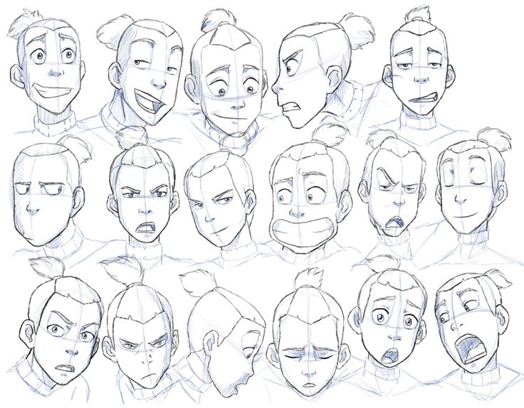 736x574 25 Best Faces Expressions Images On Faces, Sketches