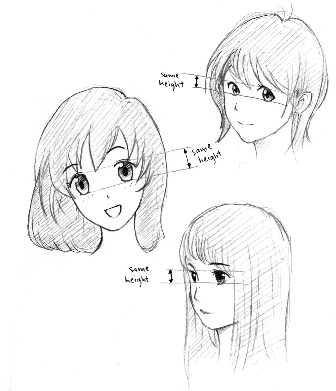 1374x1600 Johnnybro's How To Draw Manga How To Draw Manga Eyes (Part Iii)