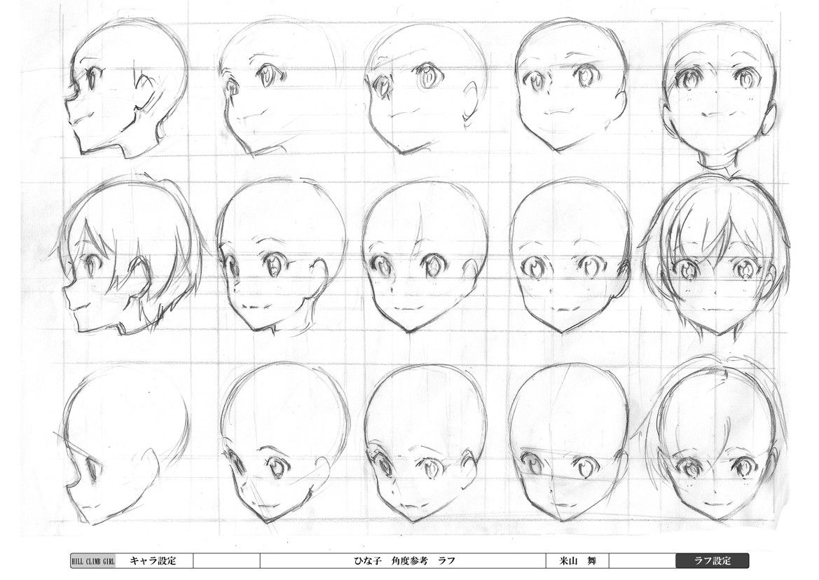 1169x828 Gallery Drawing A Anime Face,