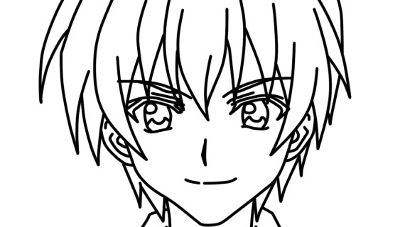 570x320 How To Draw Anime People How To Draw A Cute Anime Face Step Step