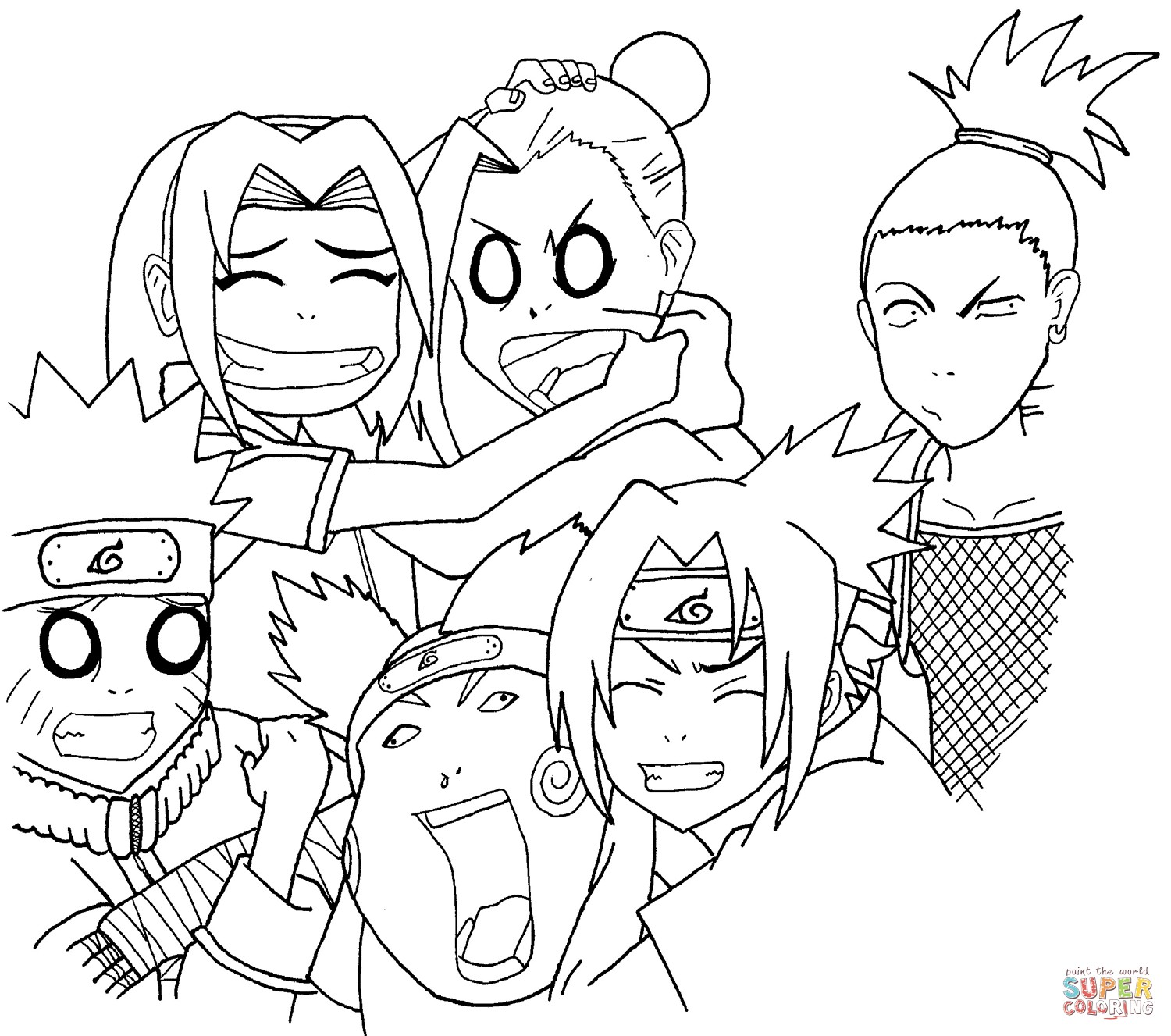 Anime Facial Expressions Drawing at GetDrawings   Free ...