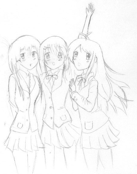 452x572 three best friends by animedevil99 on deviantart