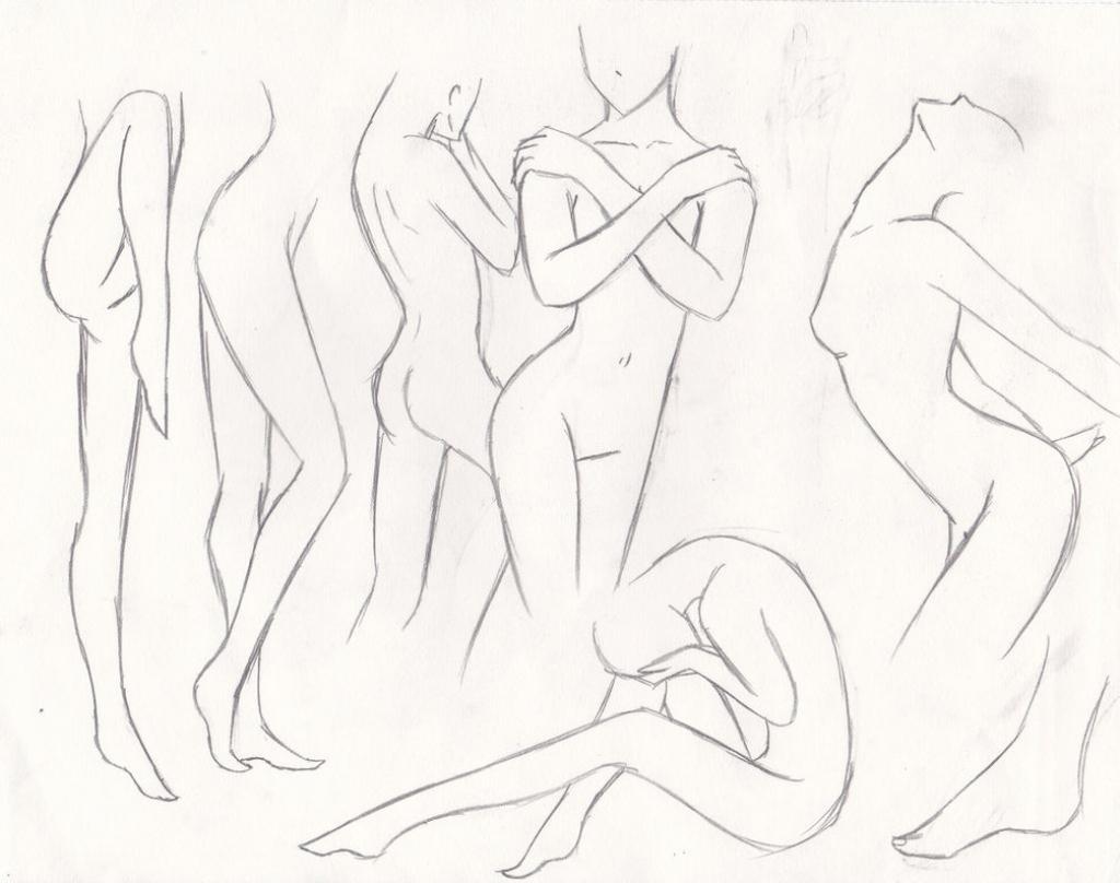 1024x808 Draw Female Anime Body Anime Girl Body Sketch How To Draw Female