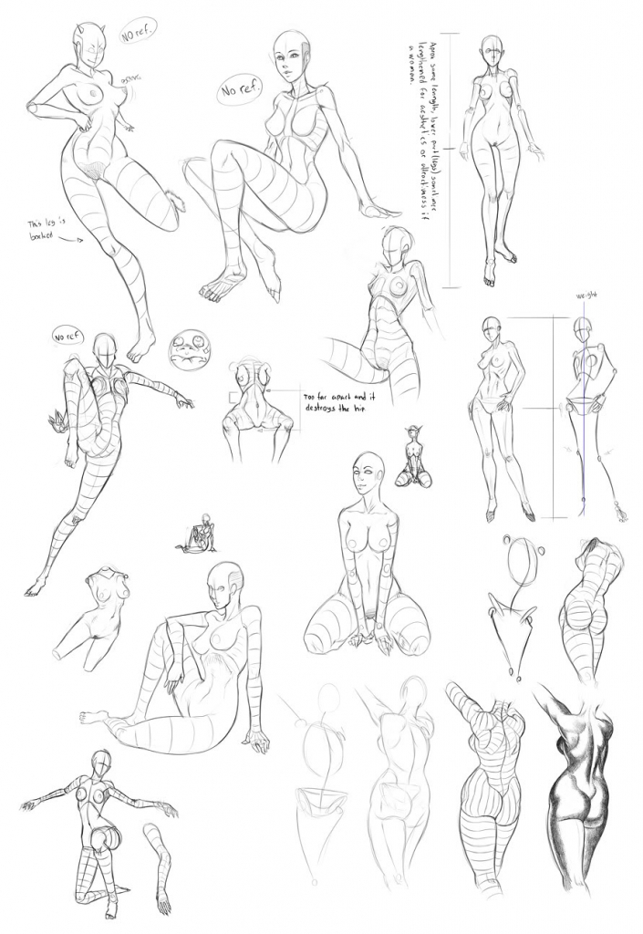 705x1024 Anime Girl Figure Sketch Images About Manga Female Body