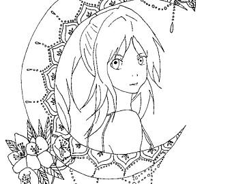 340x270 Anime Drawing Etsy