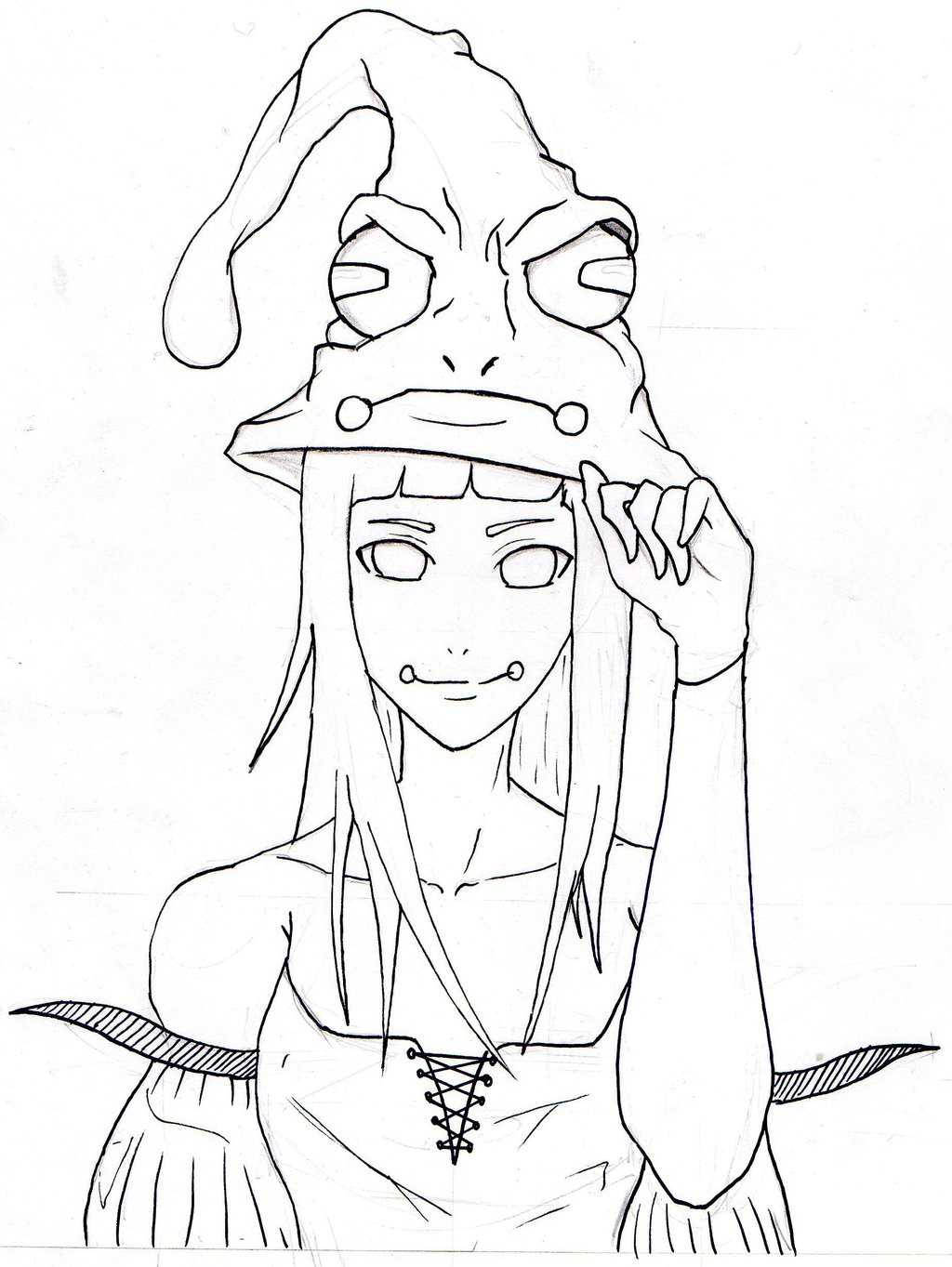 1024x1363 Anime Girl Drawing By Abdoutchawder