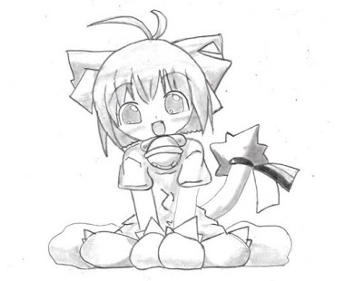 379x310 How To Draw An Anime Girl. Draw Anime Youtube. Step 5 Draw Hair