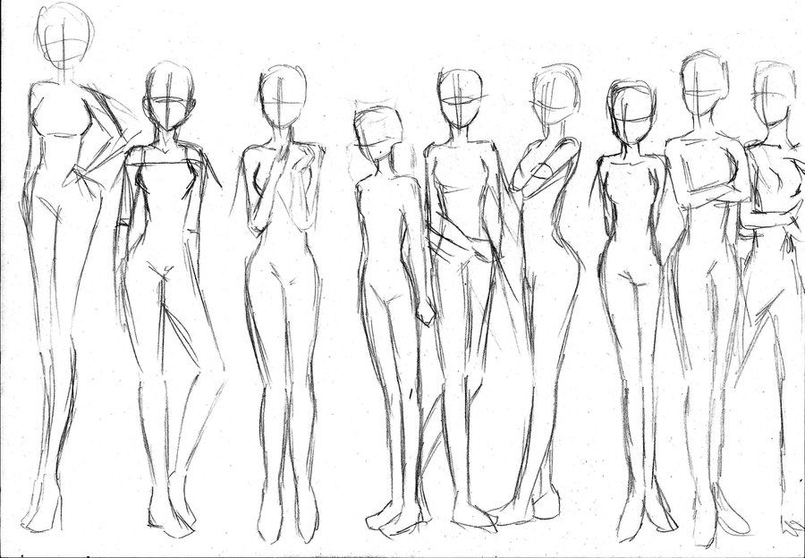 900x624 Gallery Anime Female Body Poses,
