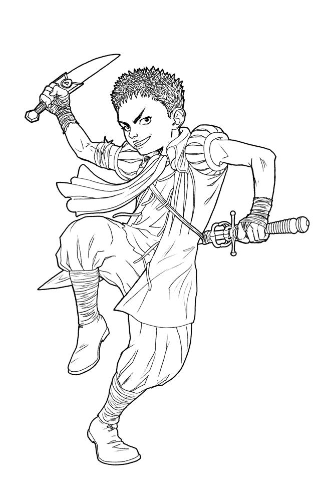 649x1000 Isidro Sketch From Berserk By Hedrus