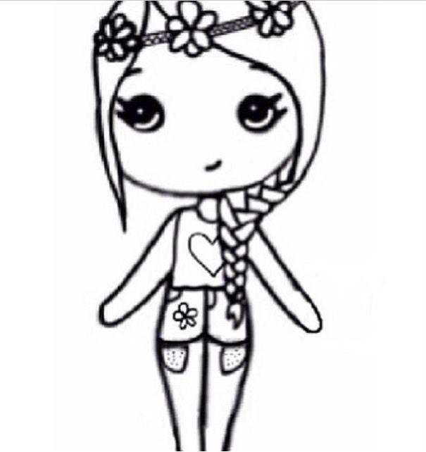 605x642 Flower child chibi Drawings and Art Pinterest Flower