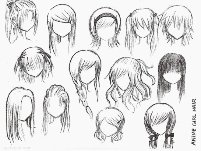 660x496 Nåw Anime Girl Hairstyles Tutorial