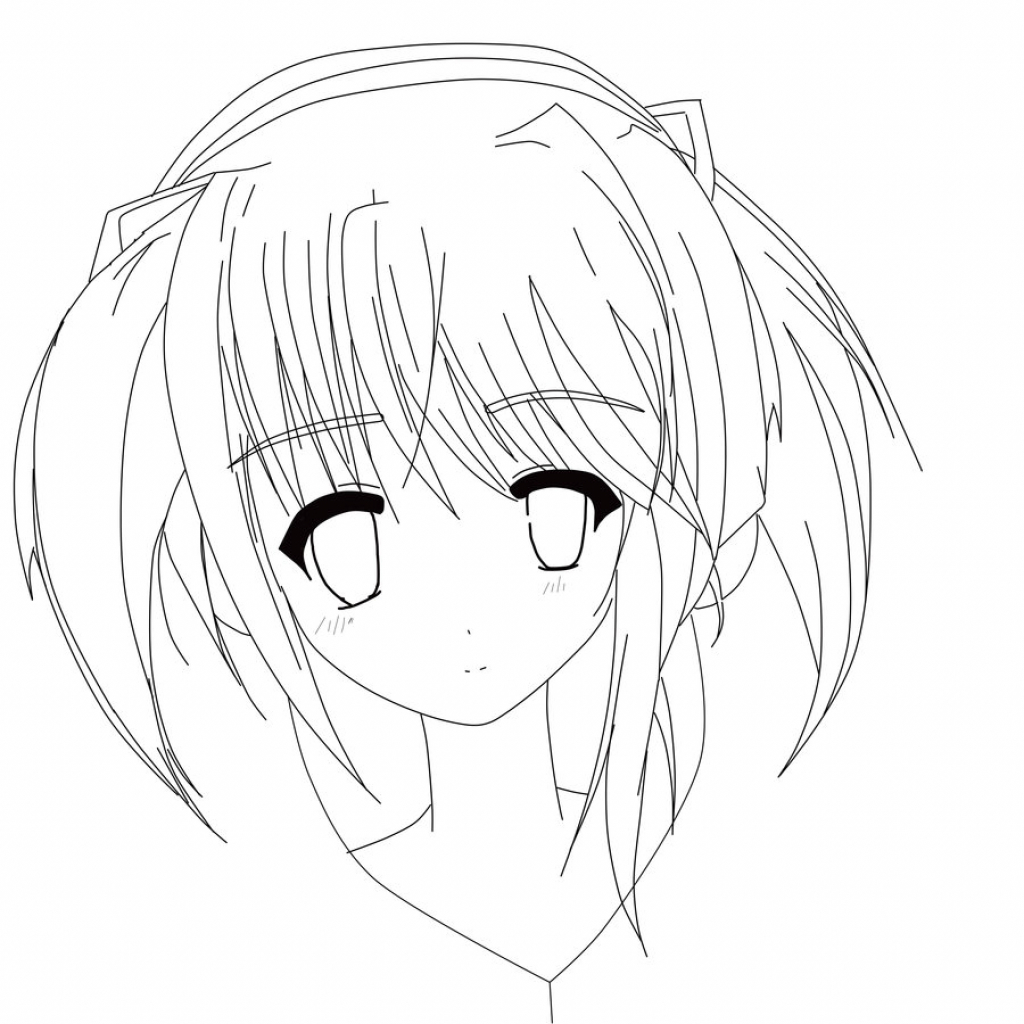 1024x1024 Anime Drawing Ideas Anime Girl Drawing Ideas Dress Images
