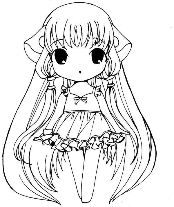 Anime Girl Dress Drawing at GetDrawings | Free download