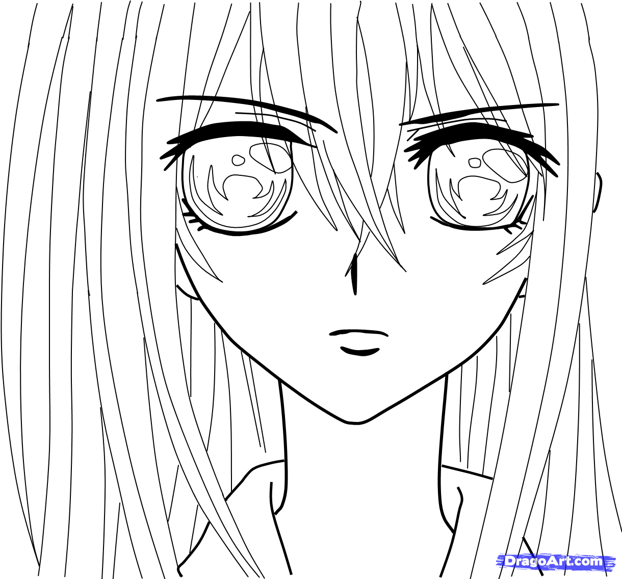 1220x1136 Anime Vampire Girl Coloring Pages