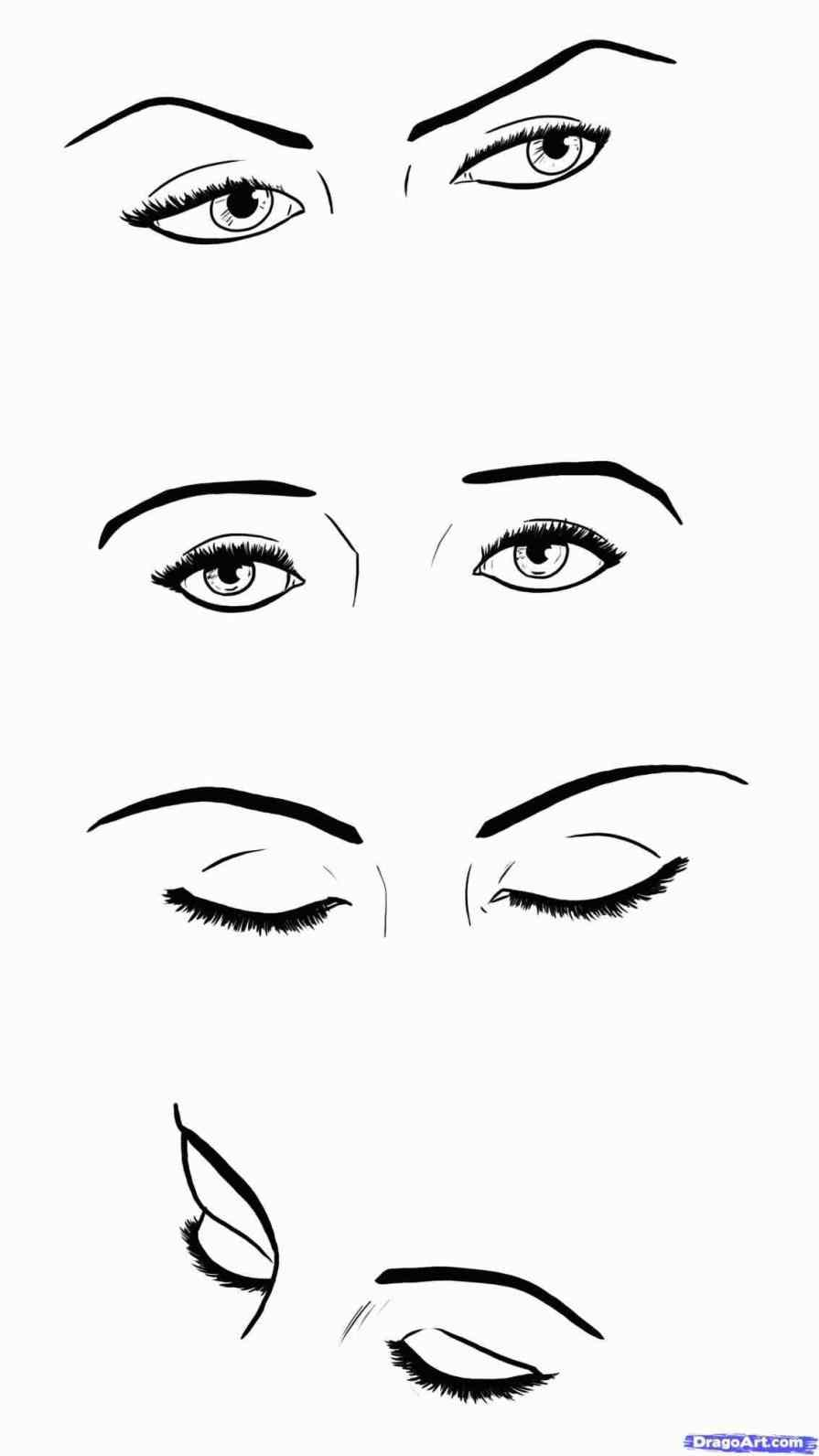 JohnnyBro's How To Draw Manga: Drawing Manga Eyes (Part II) |How To Draw Anime Girl Eyes Step By Step For Beginners