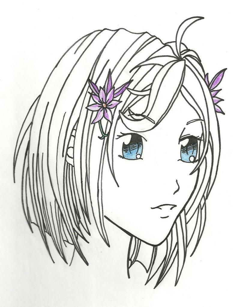 783x1020 Anime Girl Face