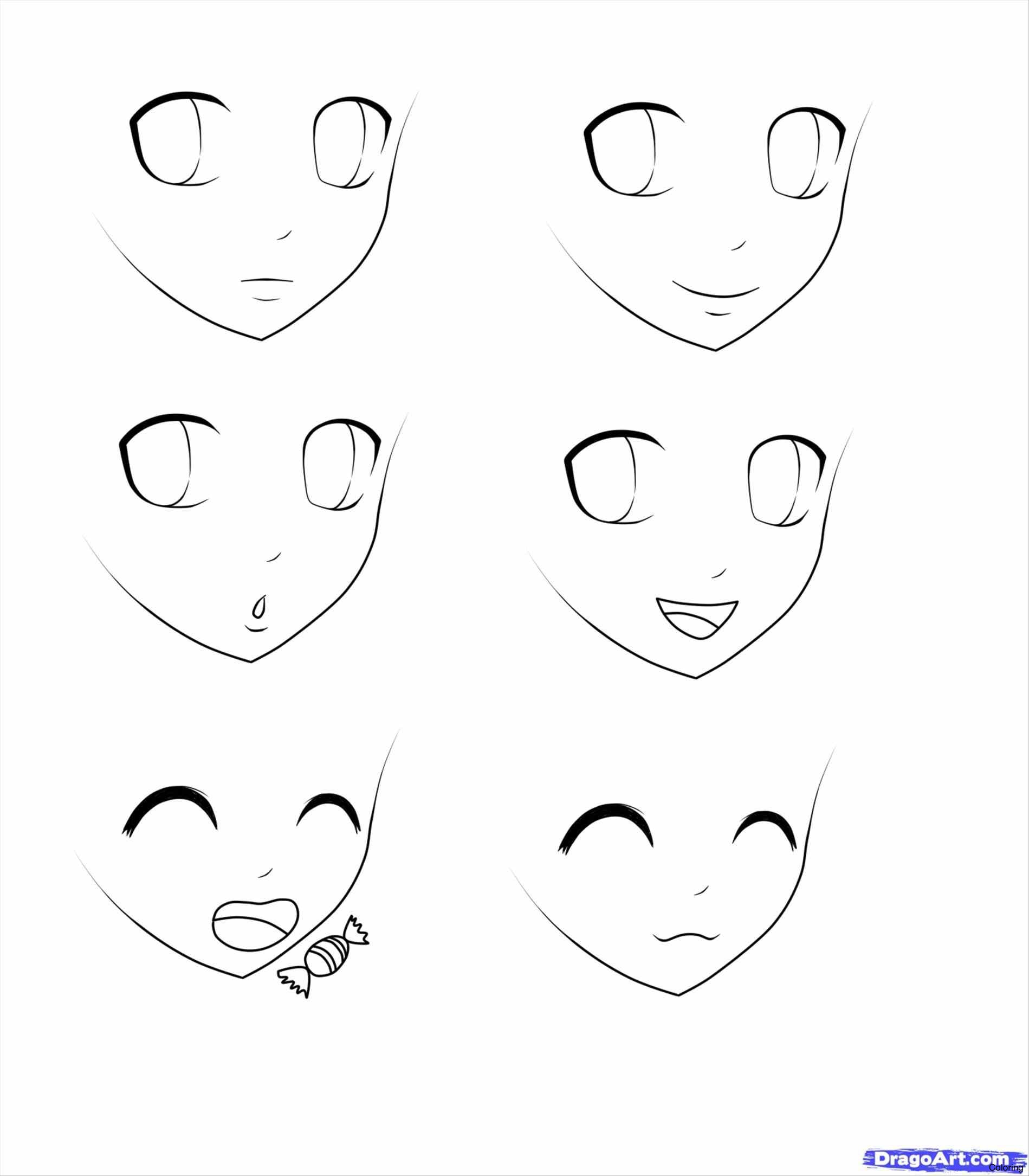 Anime Girl Step By Step Drawing At Getdrawings Com Free For