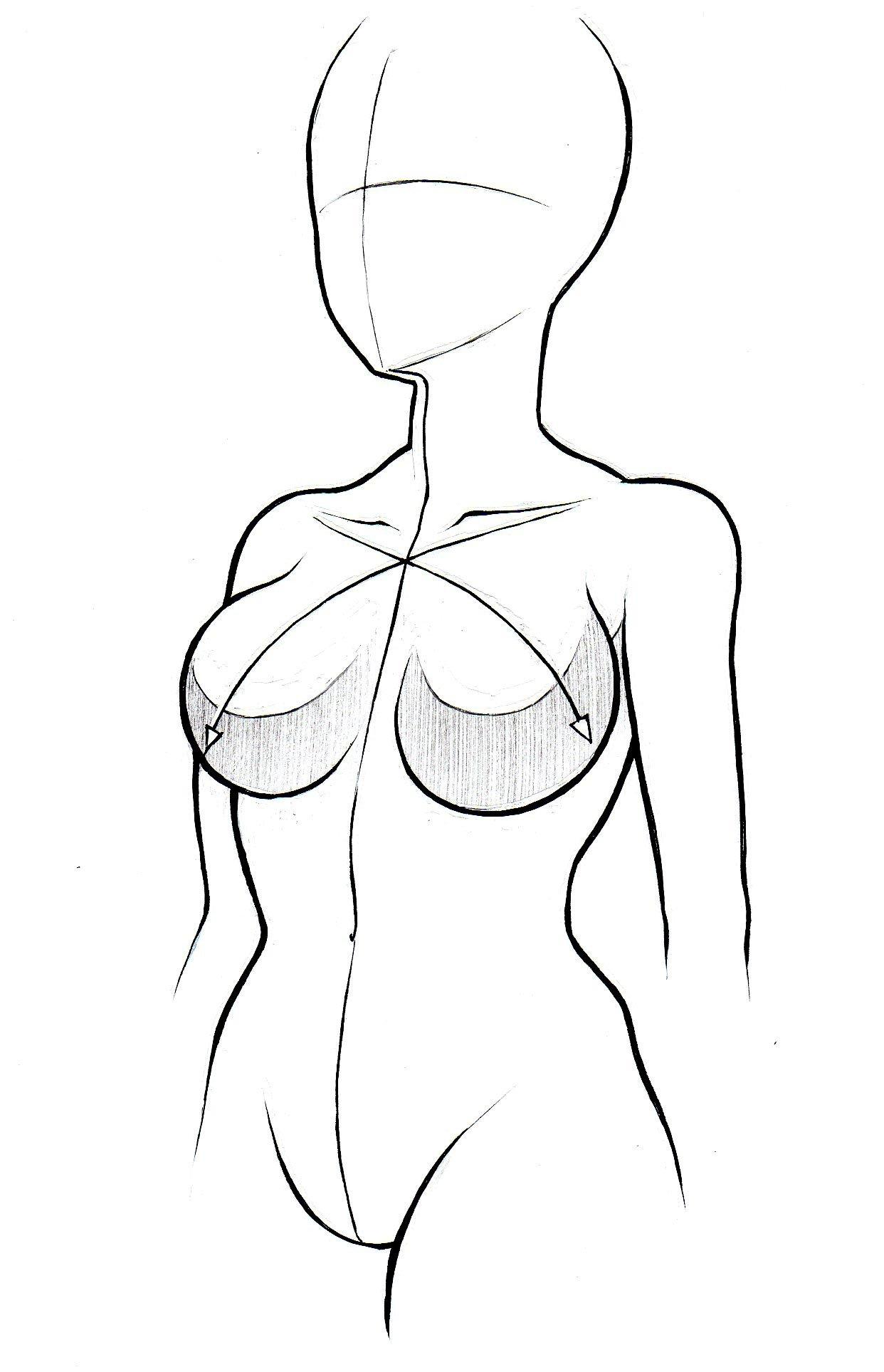 1242x1927 Draw Anime Girl Body