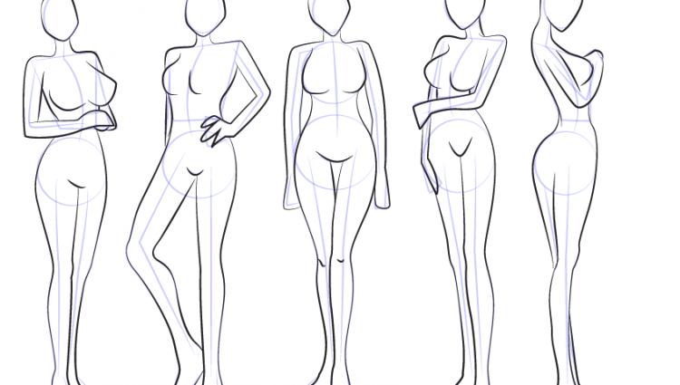 750x425 Anime Female Bodies Learn How To Draw Anime Body Female Body Step
