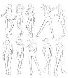 236x271 Body Stances For Anime Drawing