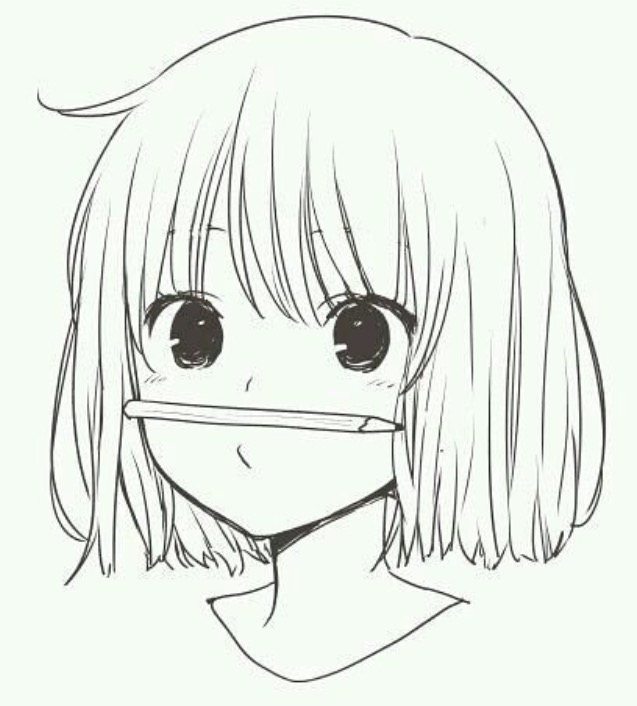 manga girls cute