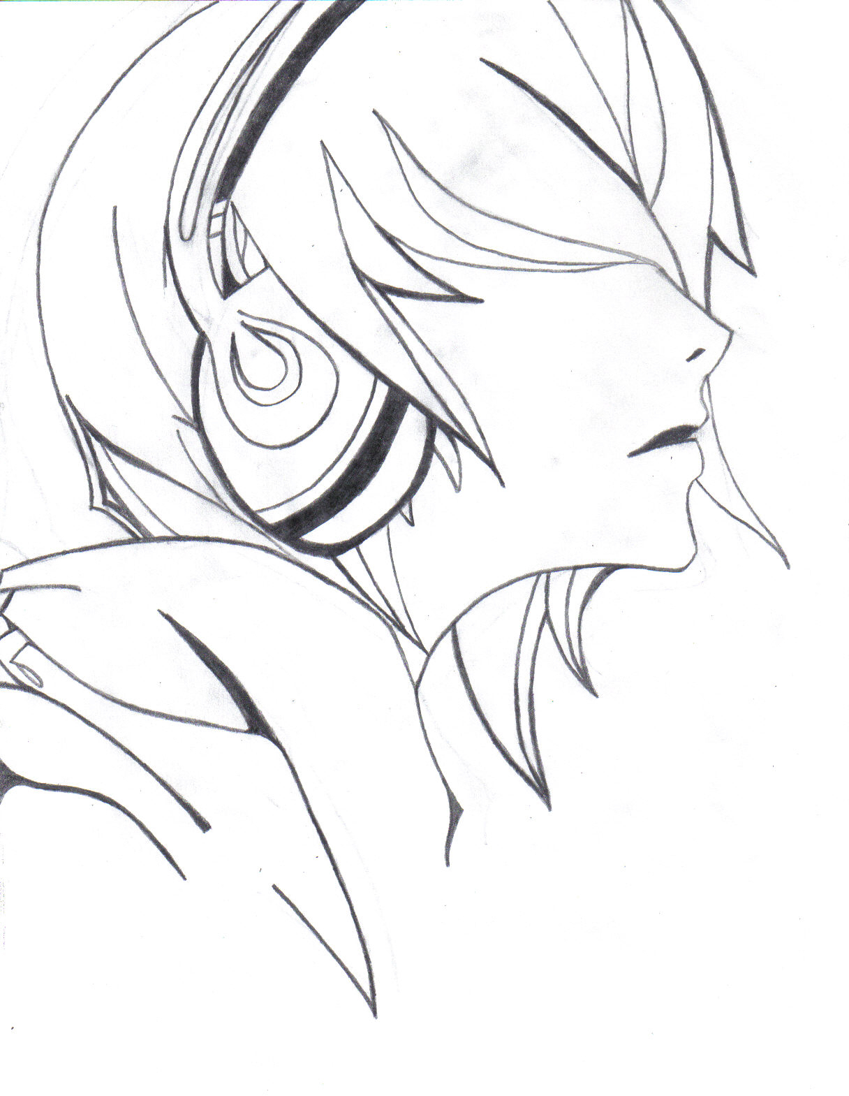 anime guy drawing at getdrawings com free for personal use anime