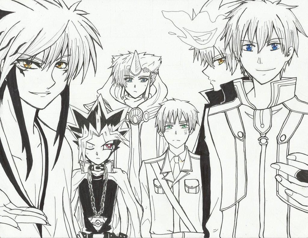 Anime Guys Drawing
